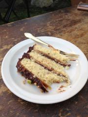 Pistachio Petite-Four Cake