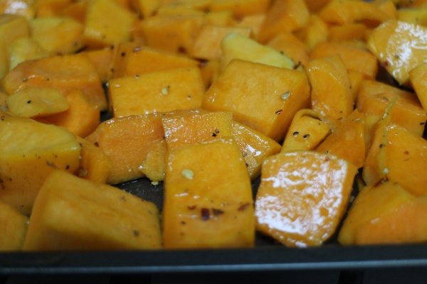 Roasted Spicy Butternut Squash