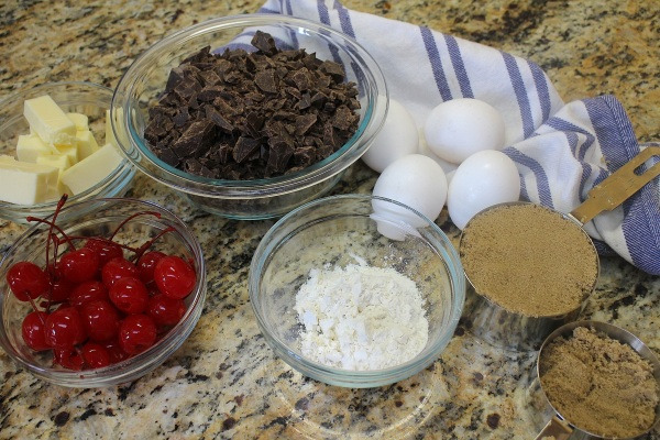 Double Chocolate Chip Cookie Ingredients