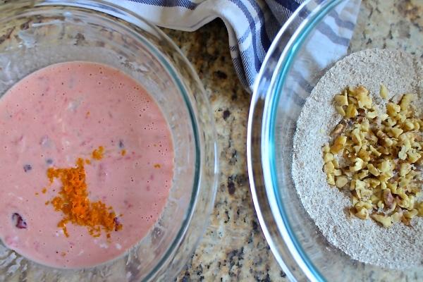 Cranberry Walnut Buckwheat Pancakes