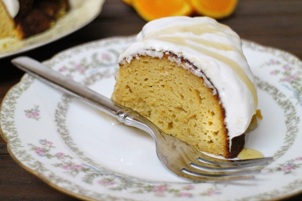 Gluten-Free, Dairy-Free Coconut Orange Bundt Cake