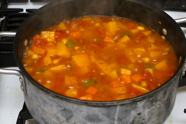 Italian Stew with Winter Squash and Chickpeas