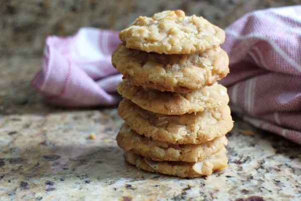 Browned Butter Coconut Cookies