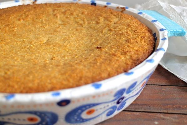 Browned Butter Skillet Cornbread
